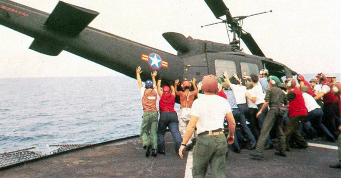VNAF vietnamese uh 1 operation frequent wind