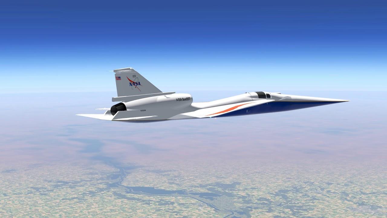 COVID-19: Produção do novo jato supersônico X-59 da NASA continua em meio  ao surto - Cavok Brasil - Notícias de Aviação em Primeira Mão